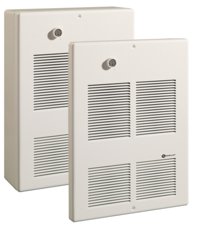 Commercial wall fan heater series oac commercial for Convecteur mural
