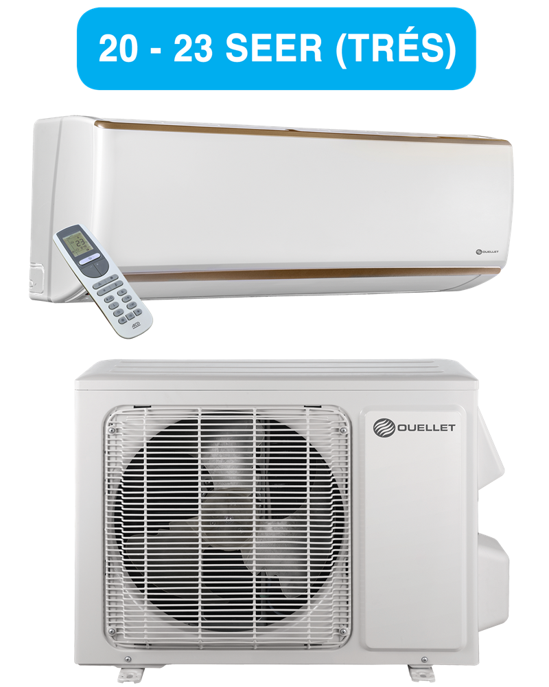 Electric Heat Pumps ~ Champagne ductless single zone heat pump series otp c